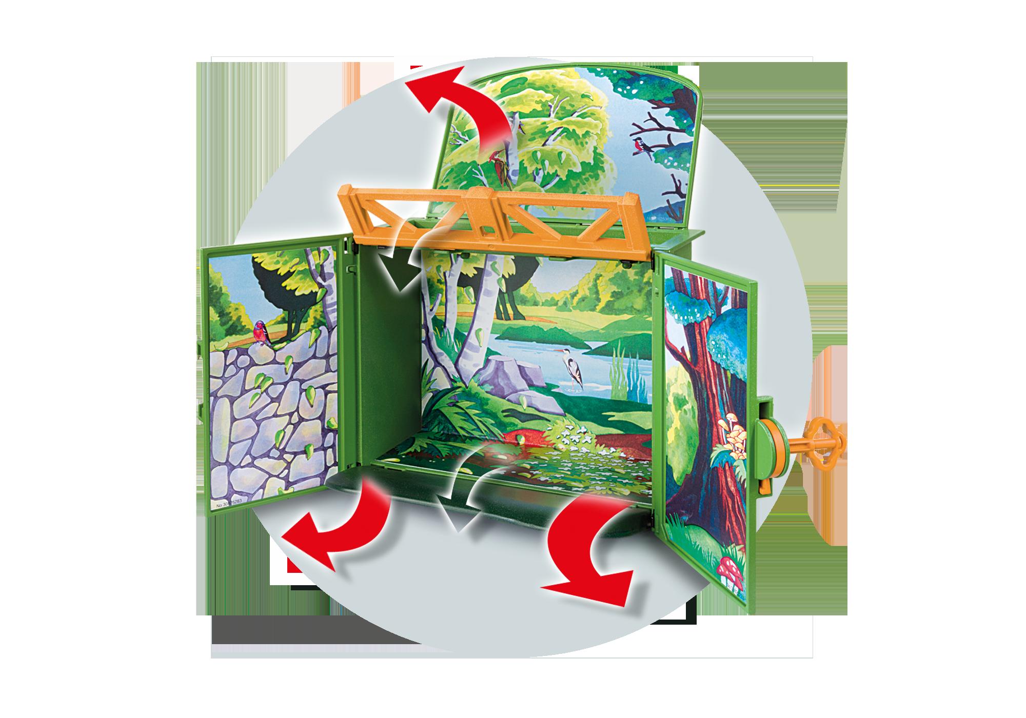 """http://media.playmobil.com/i/playmobil/6158_product_extra1/Play Box  """"Karmienie dzikich zwierząt"""""""
