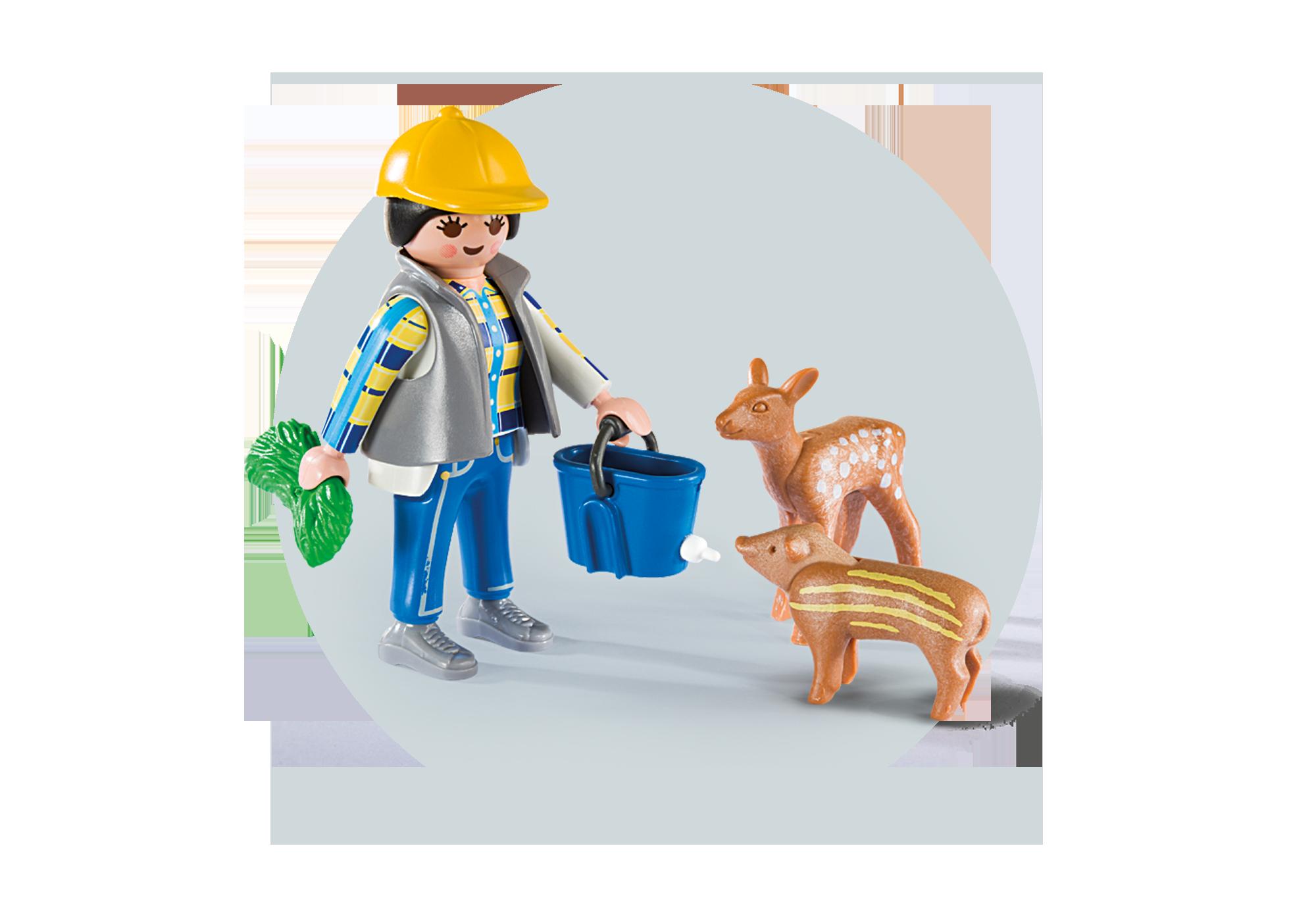 """http://media.playmobil.com/i/playmobil/6158_product_extra2/Play Box  """"Karmienie dzikich zwierząt"""""""