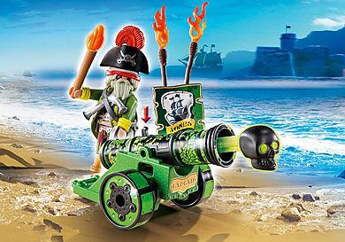6162_product_detail/Cañón Interactivo Verde con Capitán Pirata