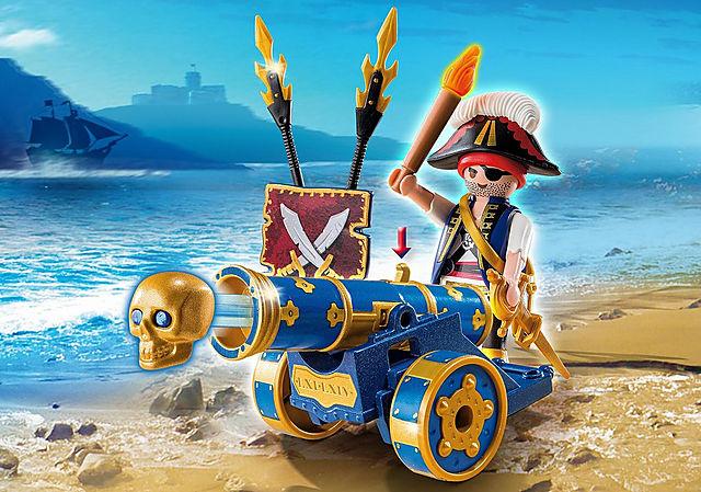 6164_product_detail/Cañón Interactivo Azul con Pirata