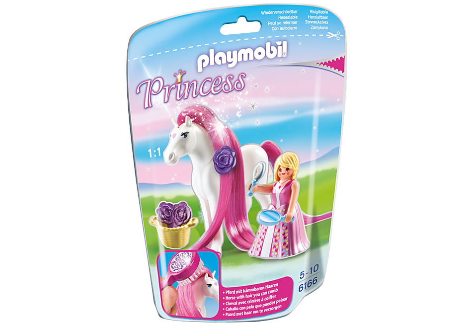 http://media.playmobil.com/i/playmobil/6166_product_box_front/Принцесса Розали с Лошадкой