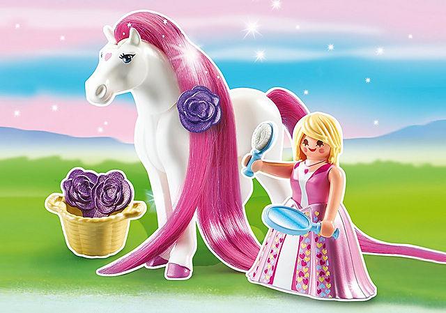6166_product_detail/Принцесса Розали с Лошадкой