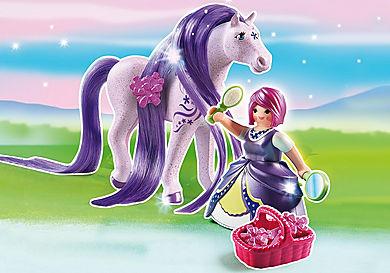 6167 Принцесса Виола с Лошадкой