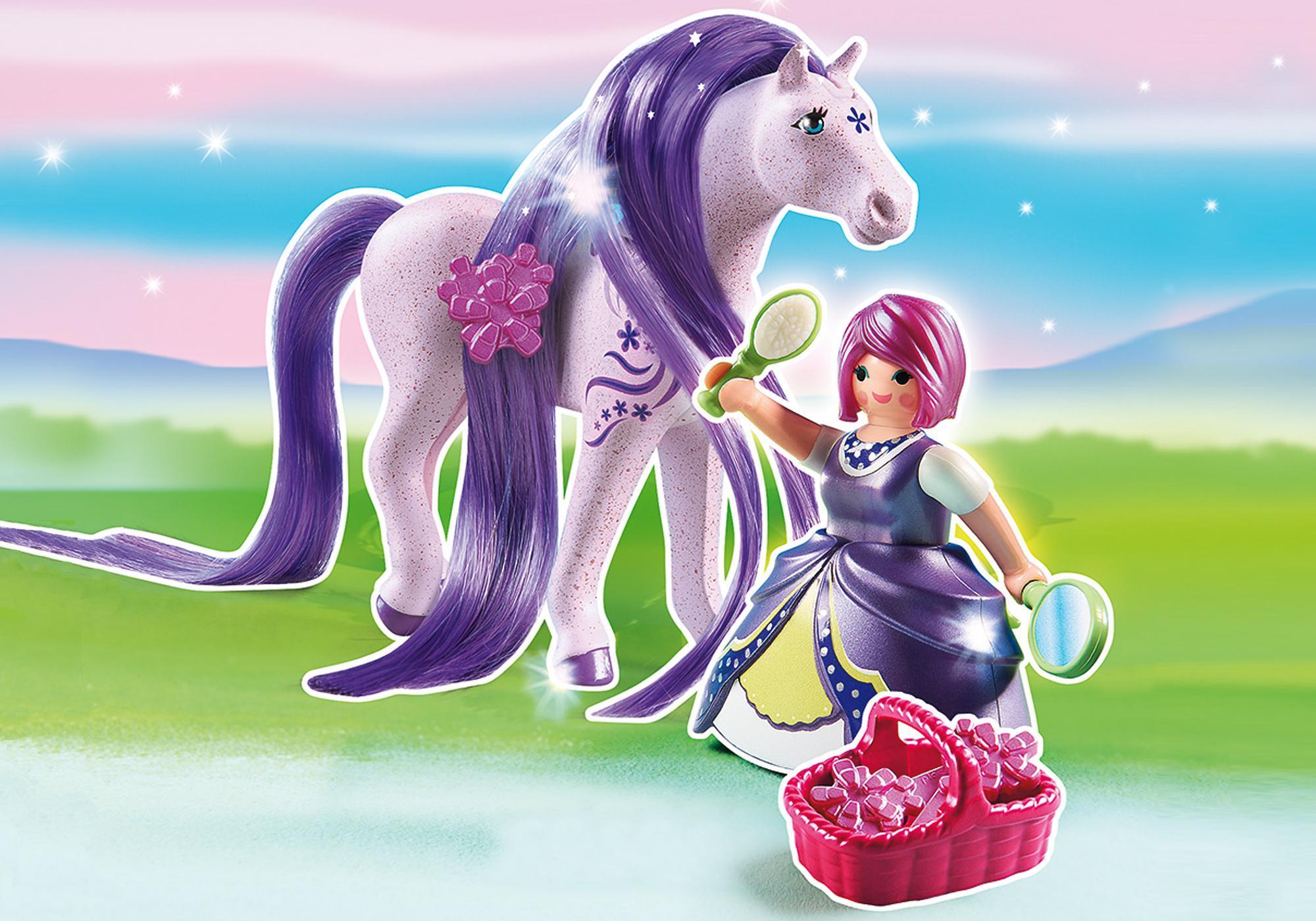 6167_product_detail/Принцесса Виола с Лошадкой