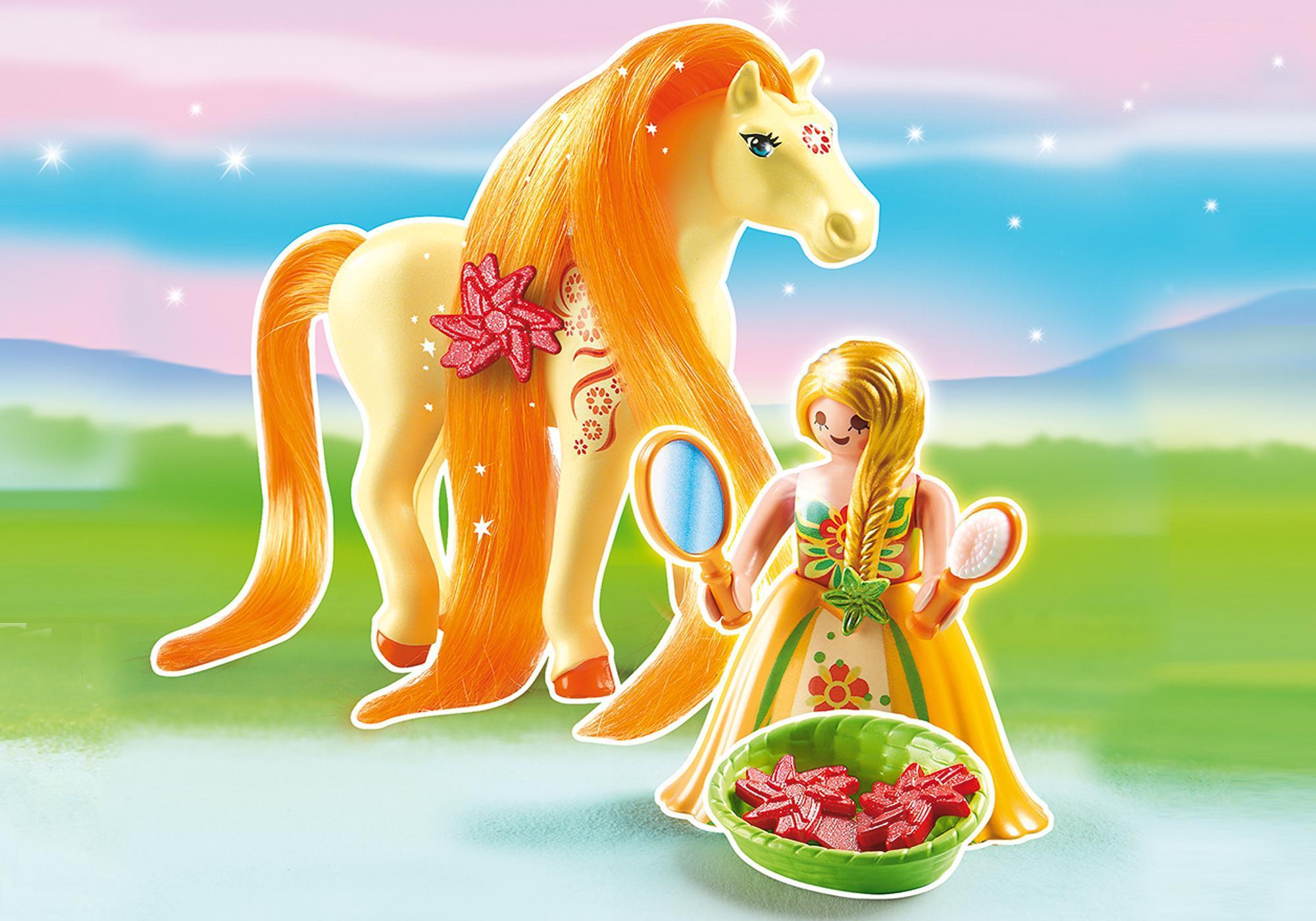 http://media.playmobil.com/i/playmobil/6168_product_detail/Принцесса Санни с Лошадкой