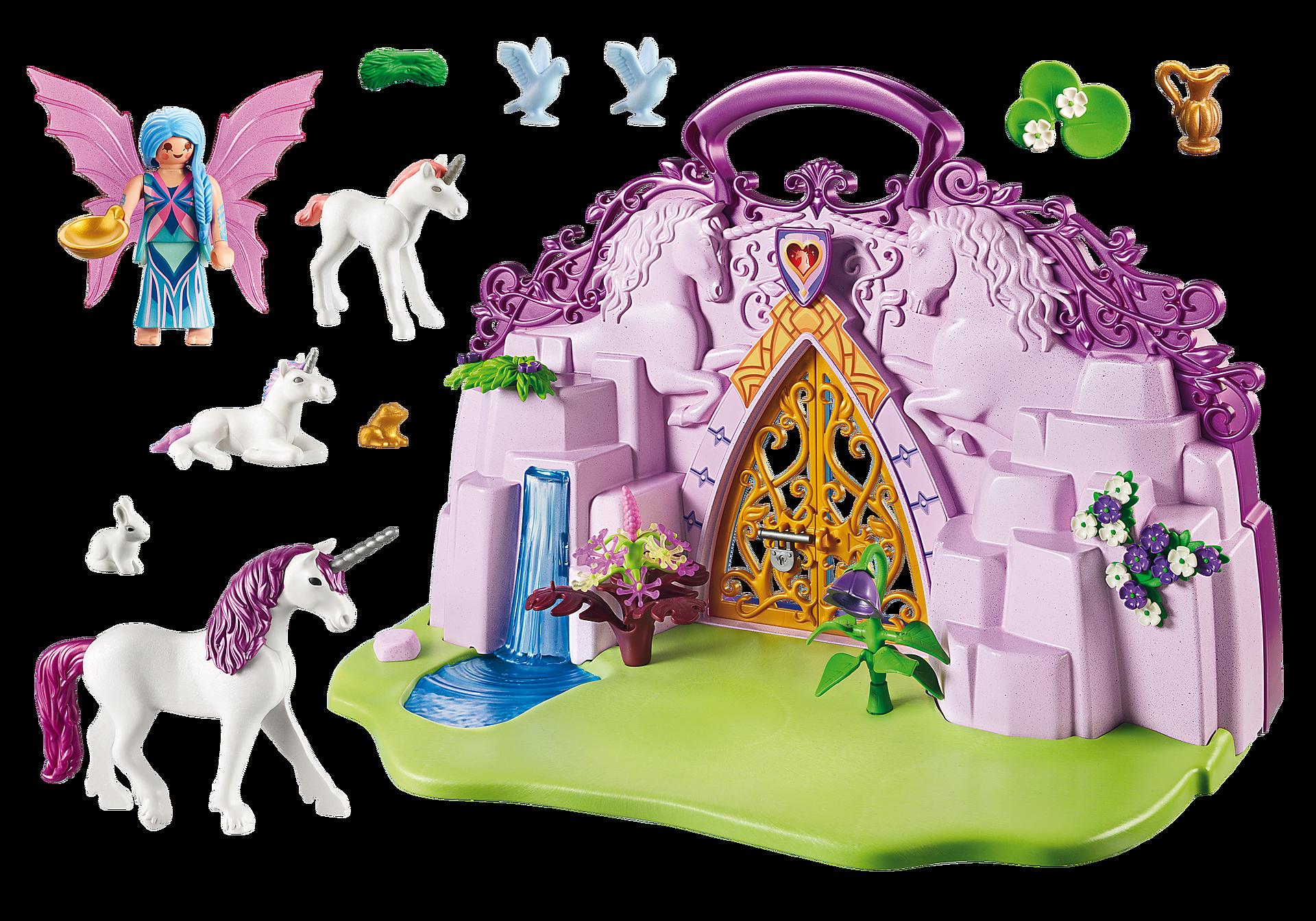 http://media.playmobil.com/i/playmobil/6179_product_box_back/Maletín Castillo de Unicornios