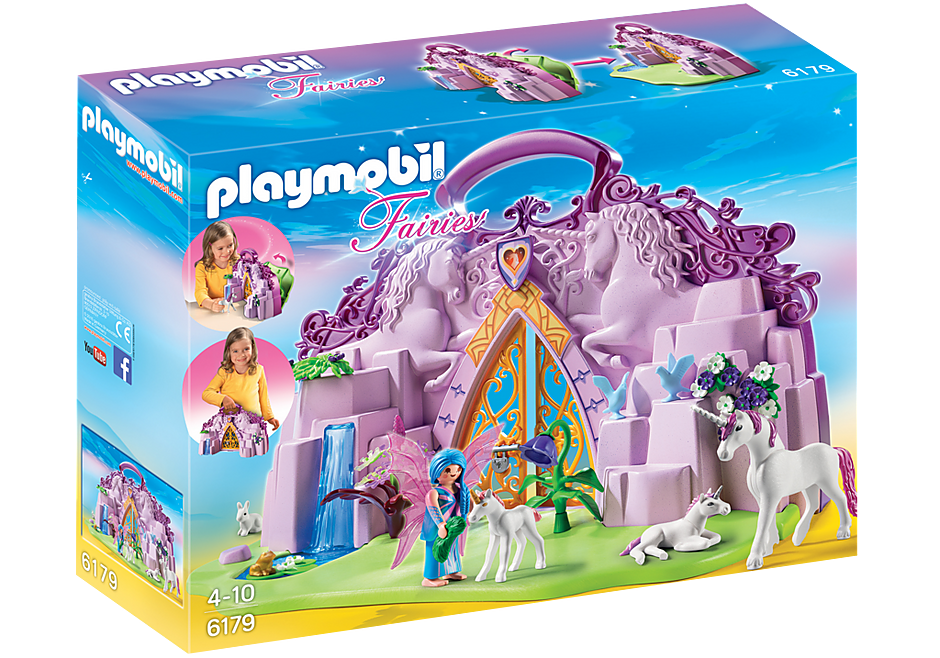 http://media.playmobil.com/i/playmobil/6179_product_box_front/Maletín Castillo de Unicornios