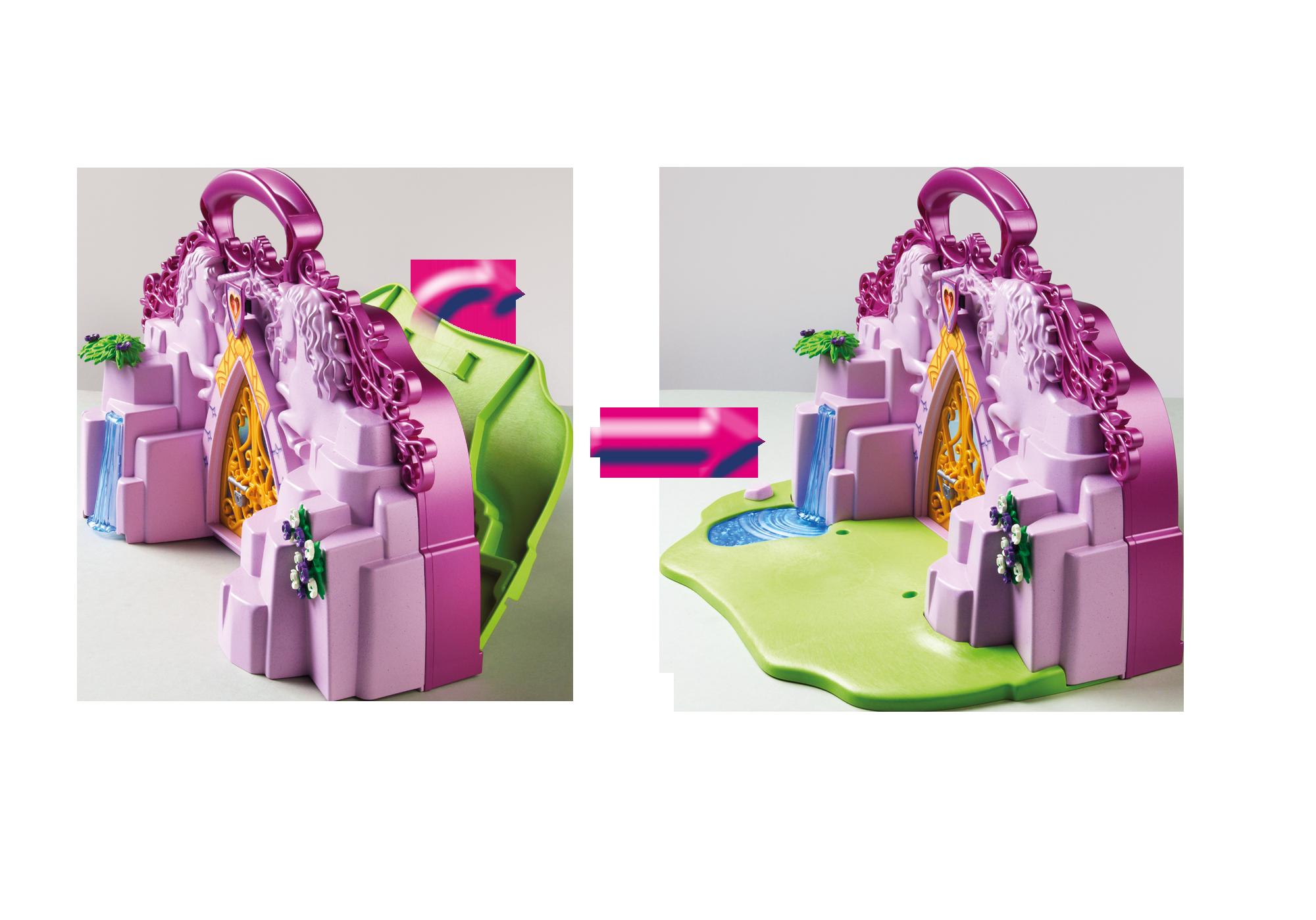 http://media.playmobil.com/i/playmobil/6179_product_extra4/Maletín Castillo de Unicornios