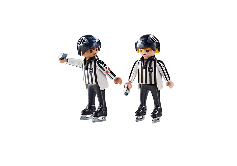 6191 Arbitres de hockey  detail image 4