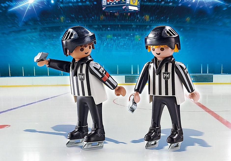 6191 Arbitres de hockey  detail image 1