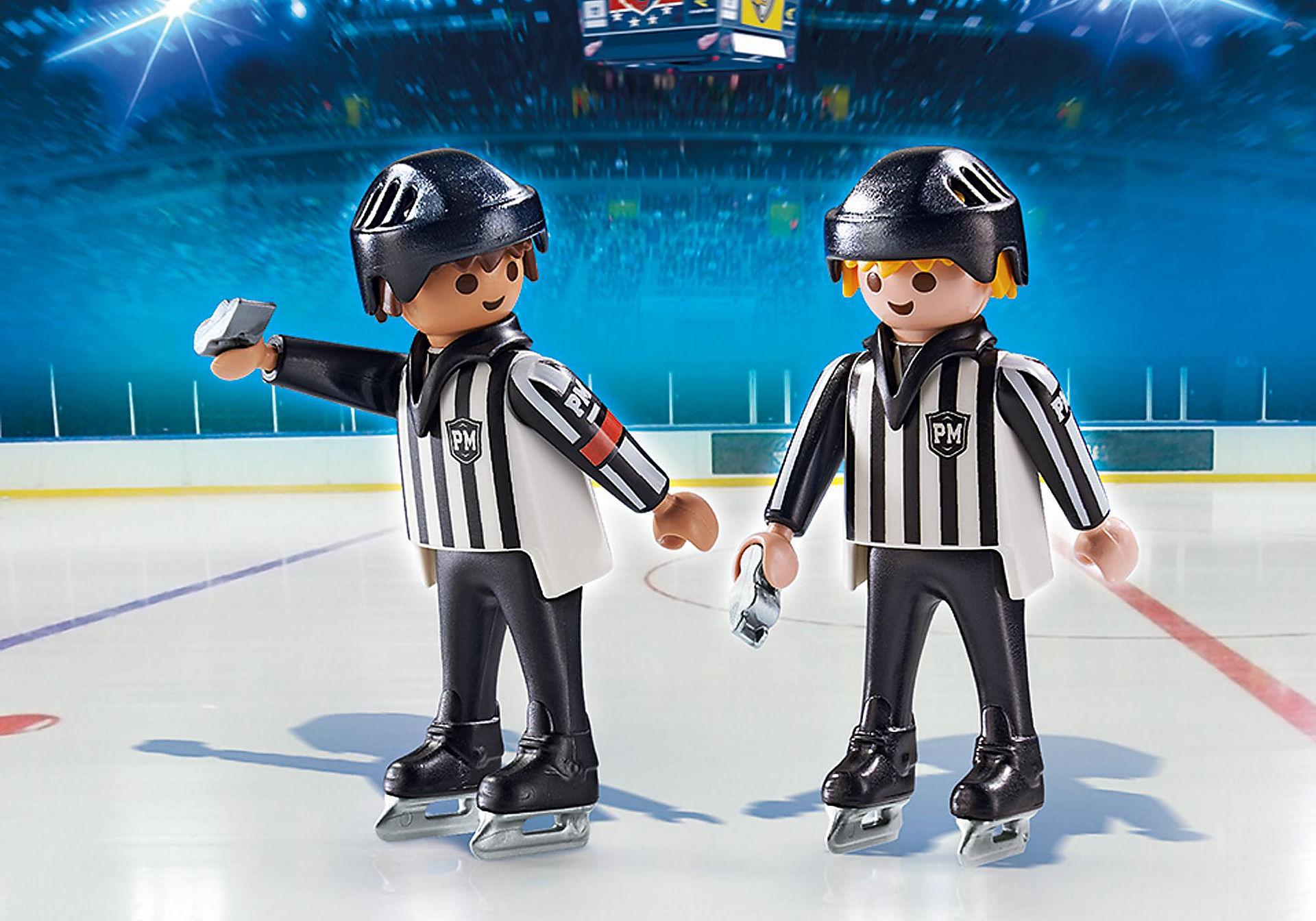 6191 Arbitres de hockey  zoom image1