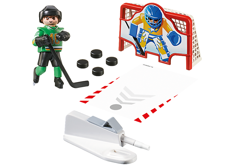 6192 Eishockey-Tortraining detail image 3