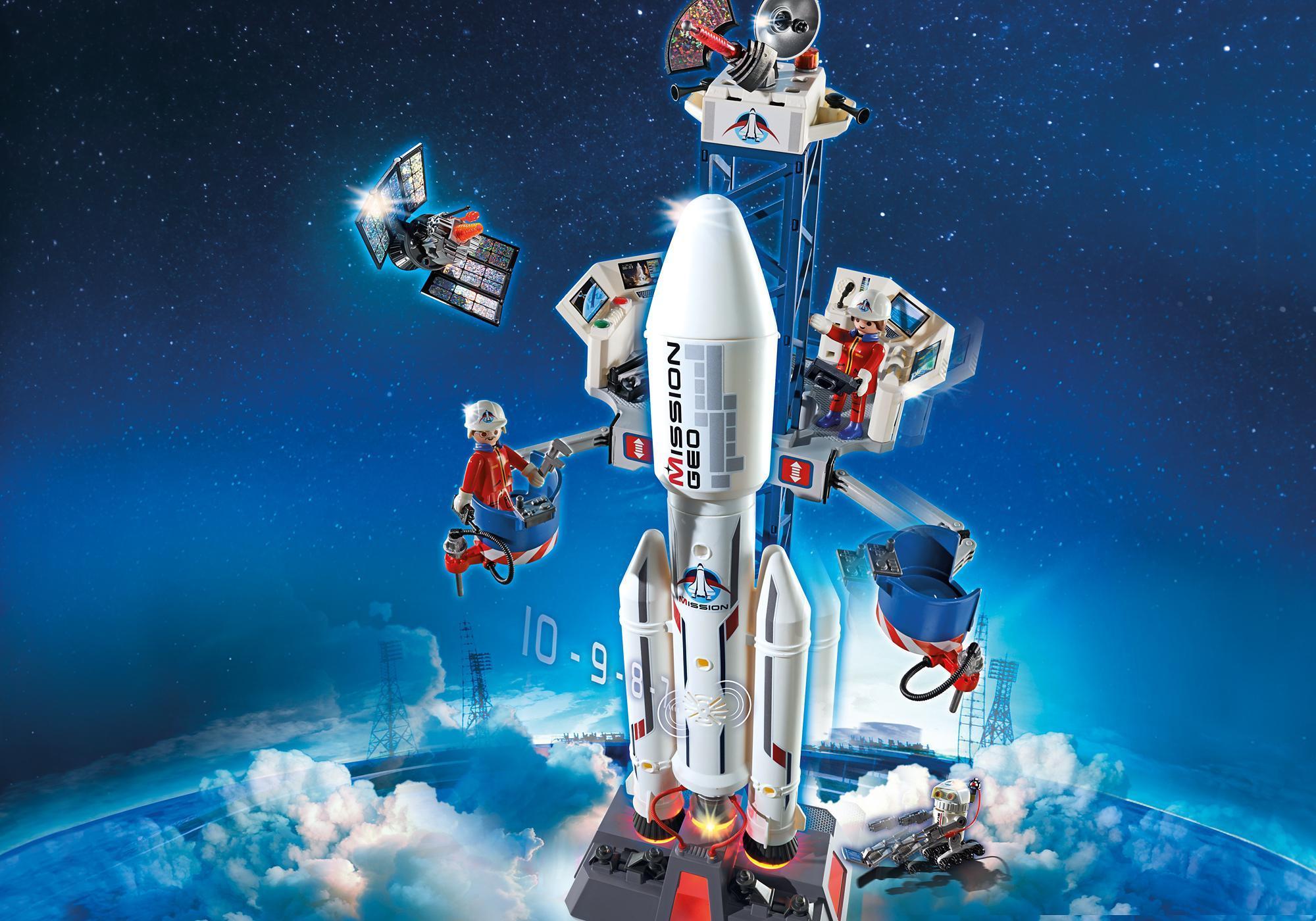 6195_product_detail/Cohete con Plataforma de Lanzamiento