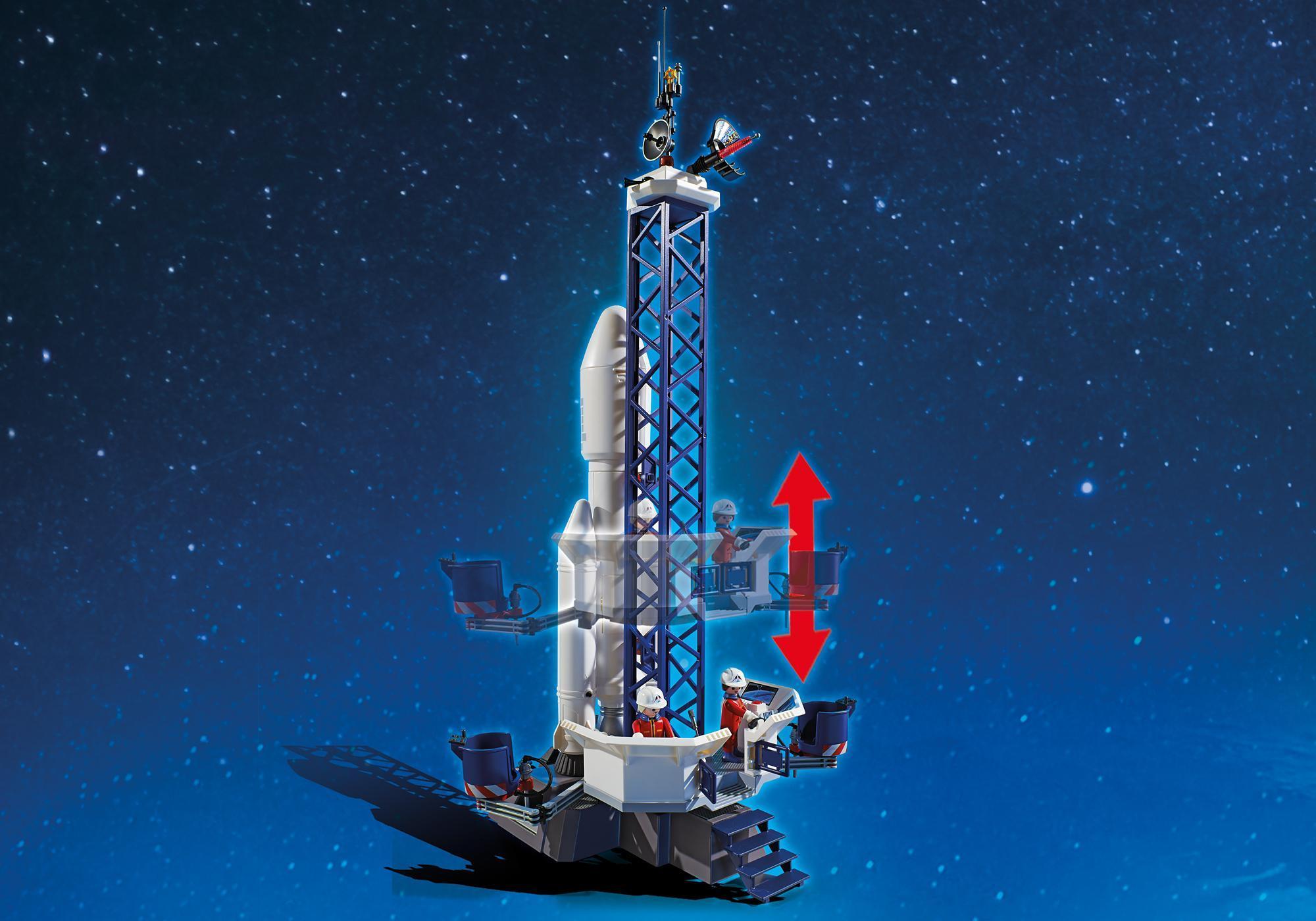 http://media.playmobil.com/i/playmobil/6195_product_extra3/Cohete con Plataforma de Lanzamiento