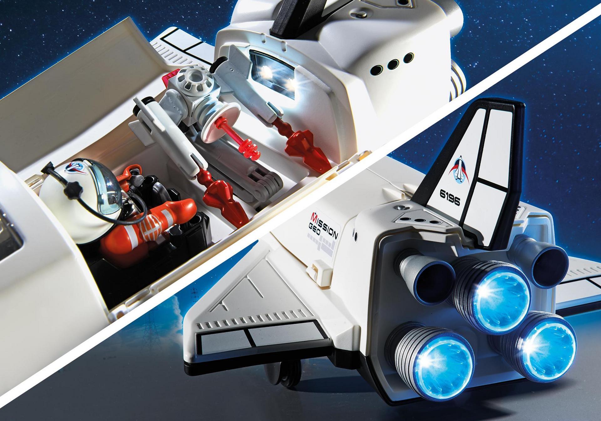 Navette spatiale et spationautes 6196 playmobil france for Nave espacial playmobil