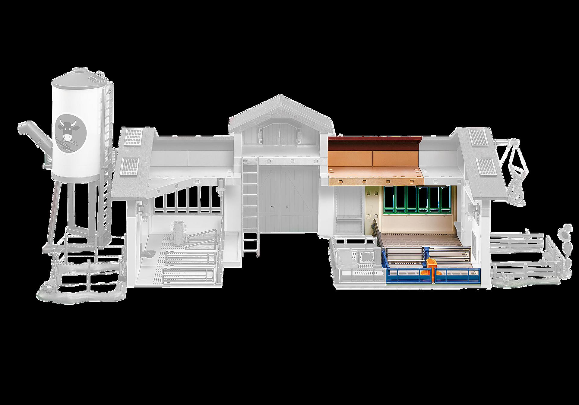 6209 Extension de l´étable pour la Ferme moderne avec silo (5119) zoom image1