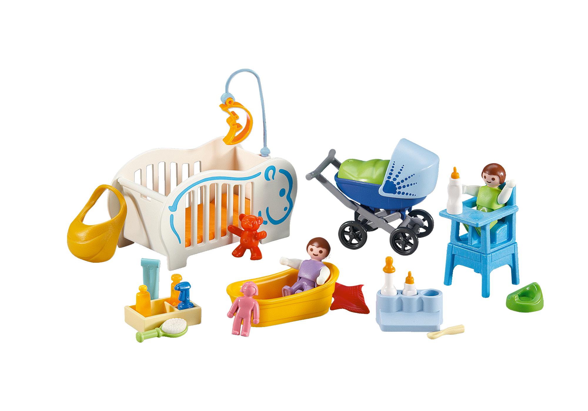 http://media.playmobil.com/i/playmobil/6226_product_detail/2 Bebés e Complementos para cuidar deles