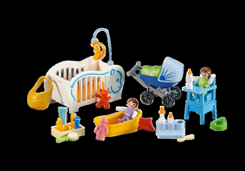 benodigdheden voor baby s 6226 playmobil belgi. Black Bedroom Furniture Sets. Home Design Ideas