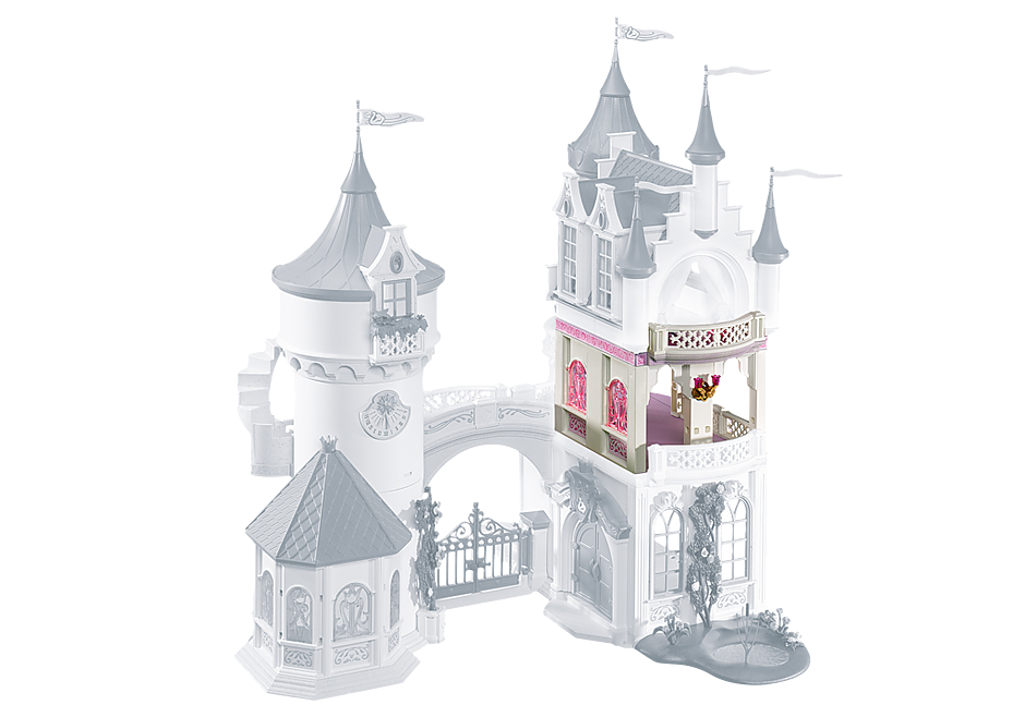 6236 Extension for Princess Fantasy Castle (5142) detail image 1