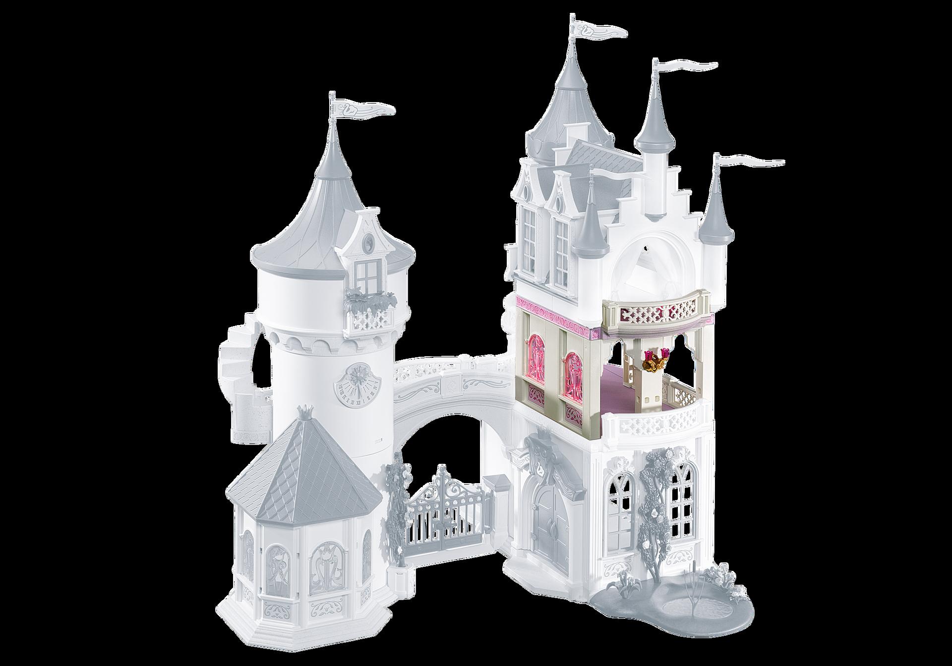 Extension for princess fantasy castle 5142 6236 for Chateau princesse playmobil 5142