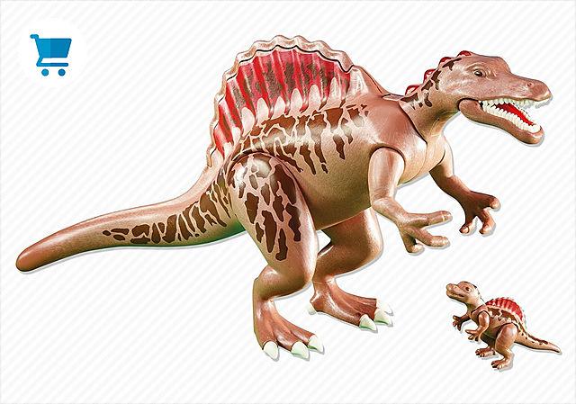 6267_product_detail/Spinosaure et son petit