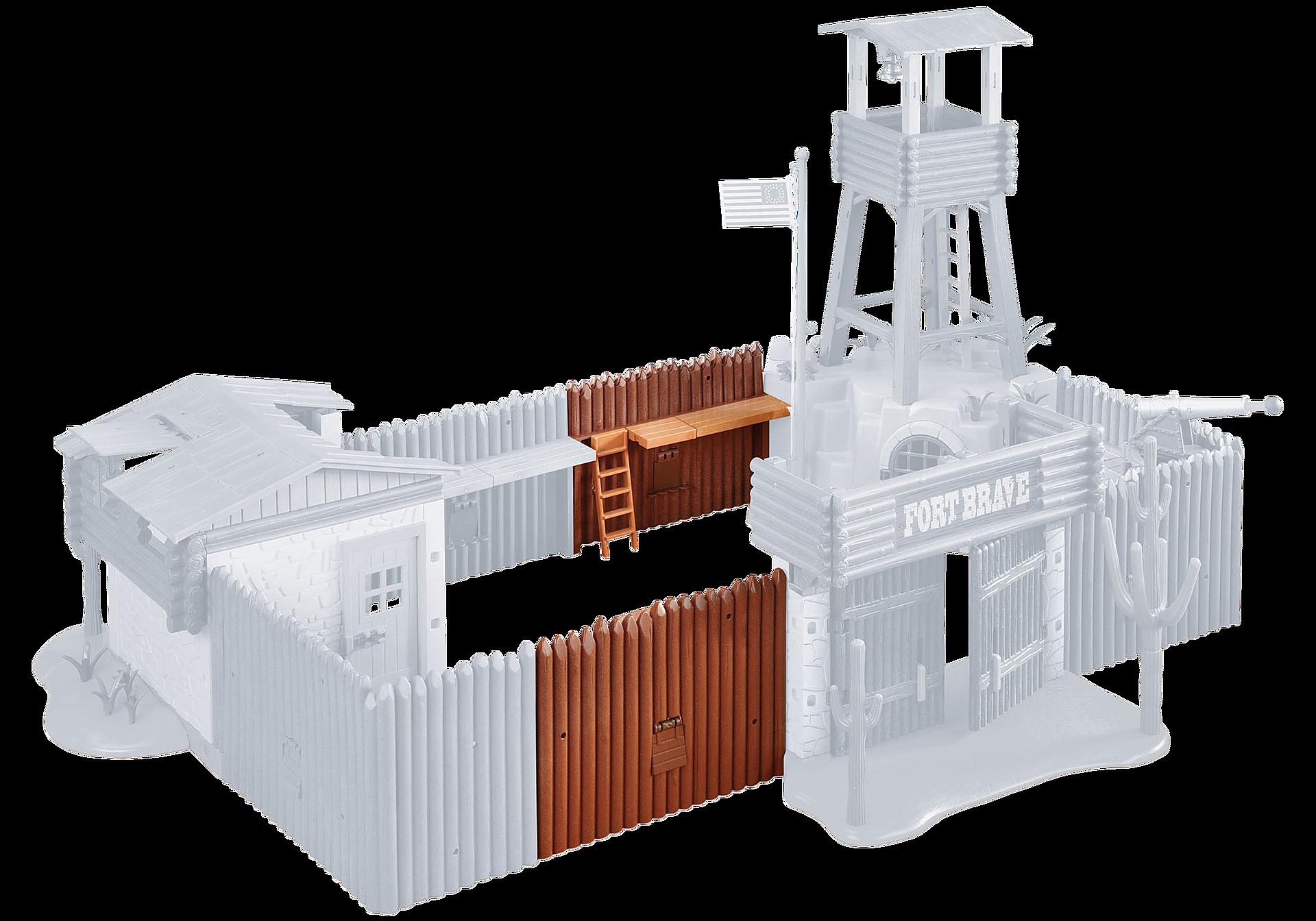 6270 Palissades d'extension pour le Grand fort des soldats américains zoom image1