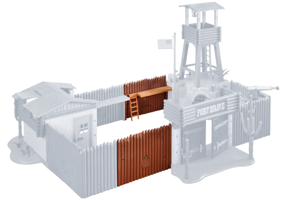 Extension For Western Fort 5245 6270 Playmobil