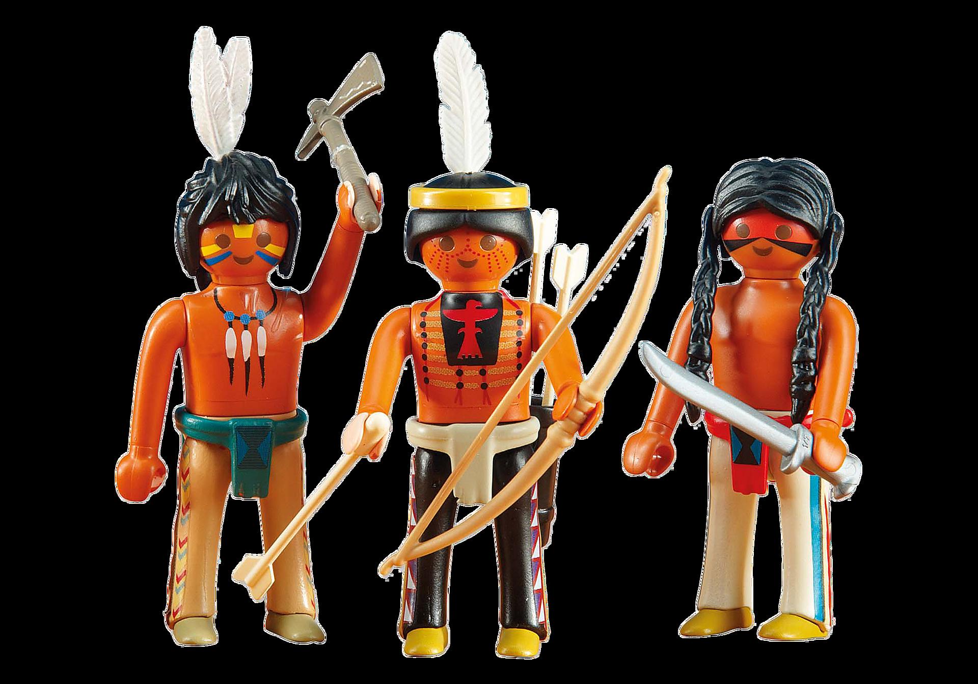 6272 3 Guerriers amérindiens zoom image1
