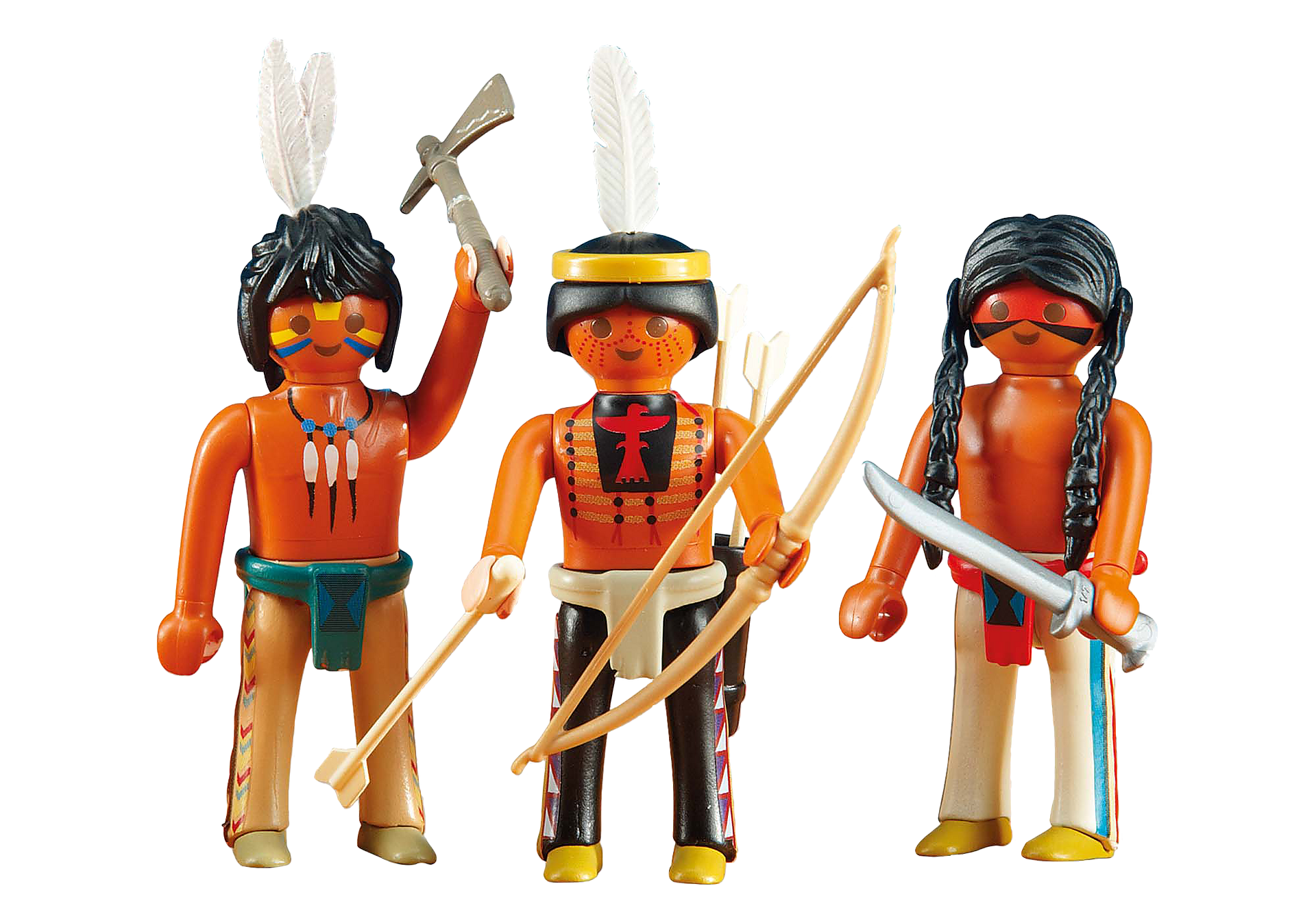 6272 3 Native American Warriors zoom image1