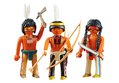 6272 3 Native American Warriors