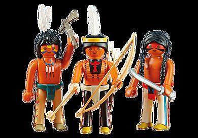 6272 3 Sioux indianen