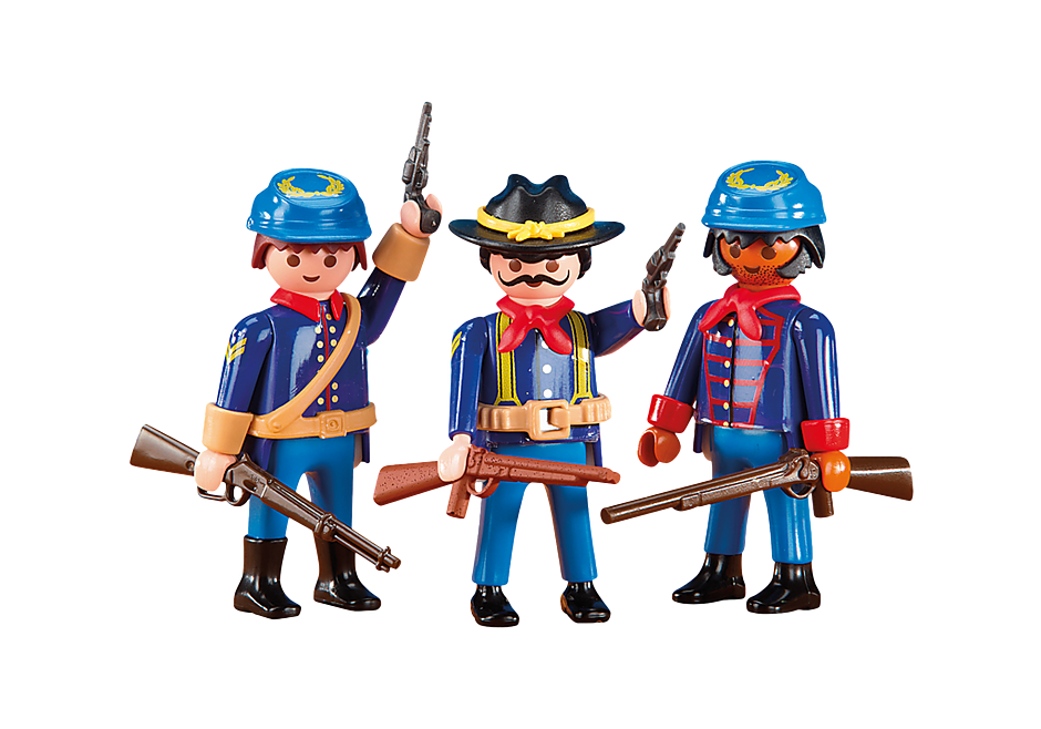 http://media.playmobil.com/i/playmobil/6274_product_detail/3 Union Soldiers II