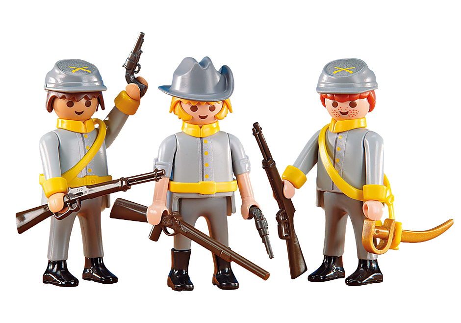 http://media.playmobil.com/i/playmobil/6276_product_detail/3 Confederate Soldiers