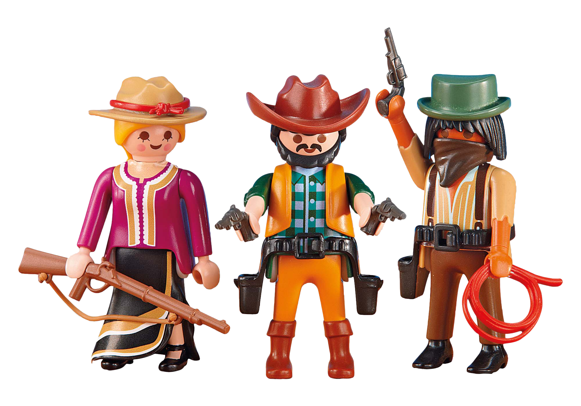 http://media.playmobil.com/i/playmobil/6278_product_detail/2 Cowboys and Cowgirl