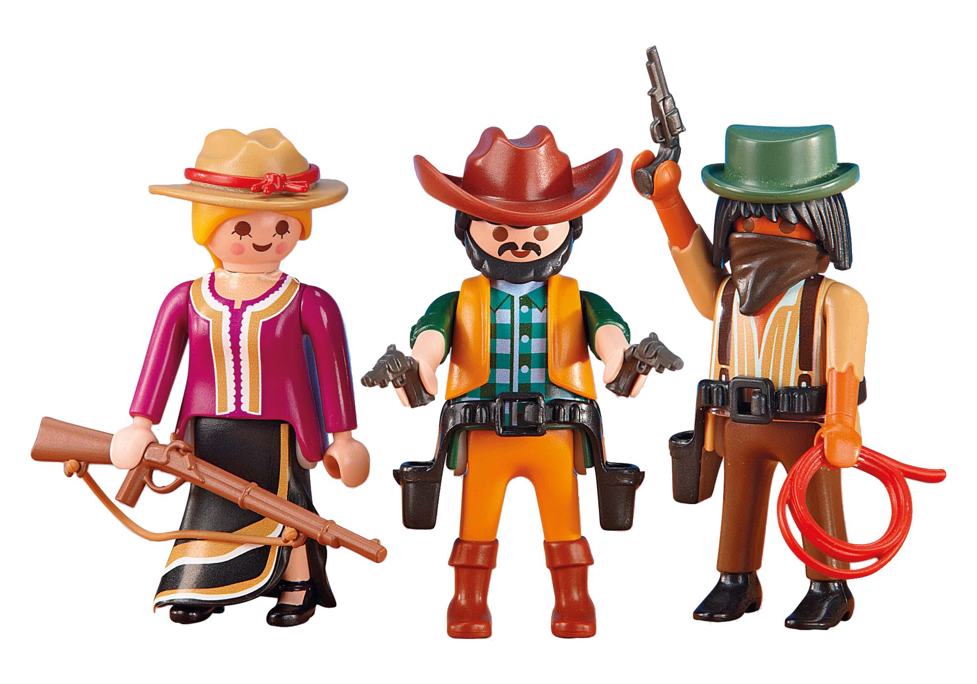 http://media.playmobil.com/i/playmobil/6278_product_detail/2 Cowboys en Cowgirl