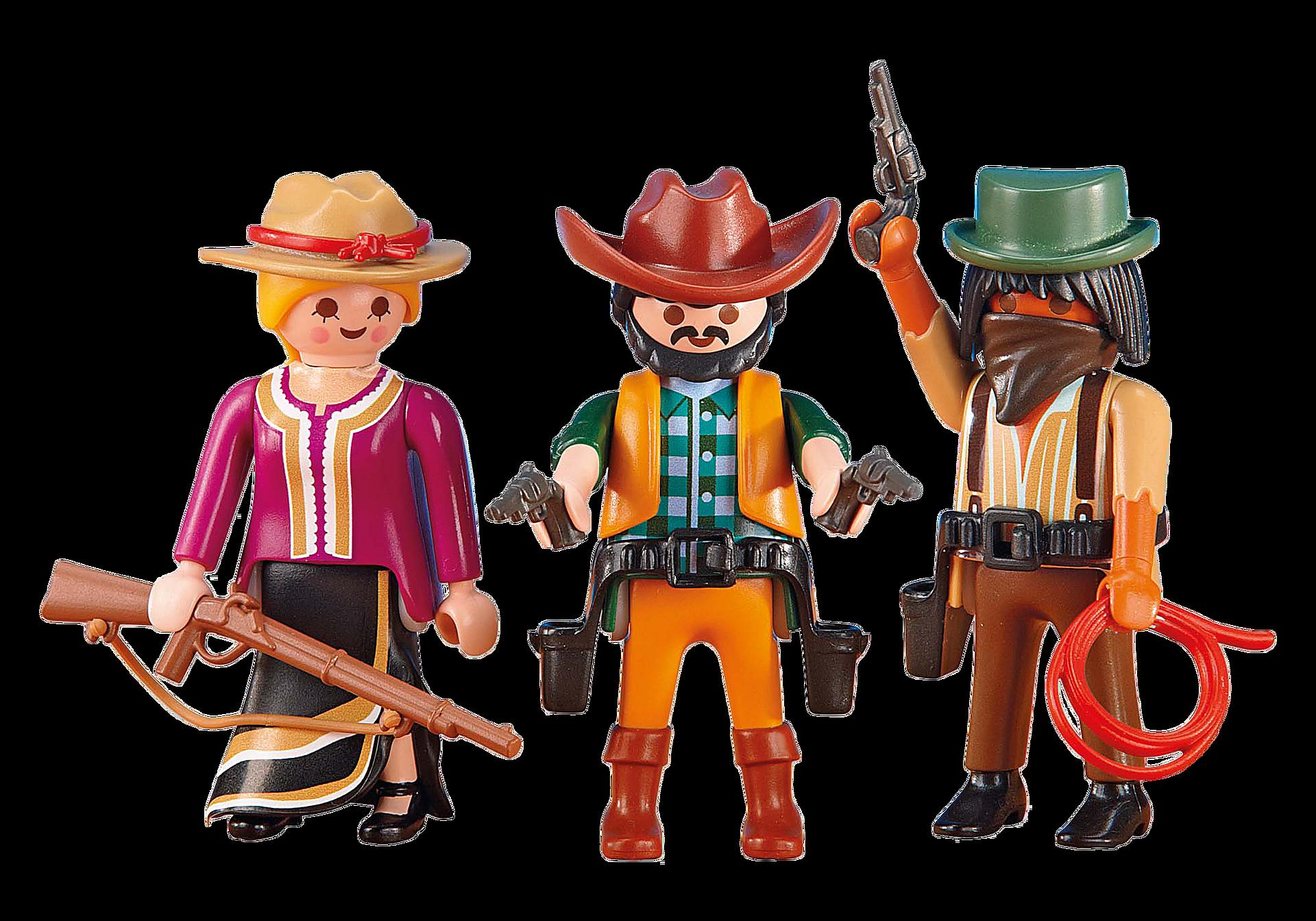 6278 2 cowboys con cowgirl zoom image1