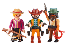 Playmobil 2 Cowboys And Cowgirl 6278