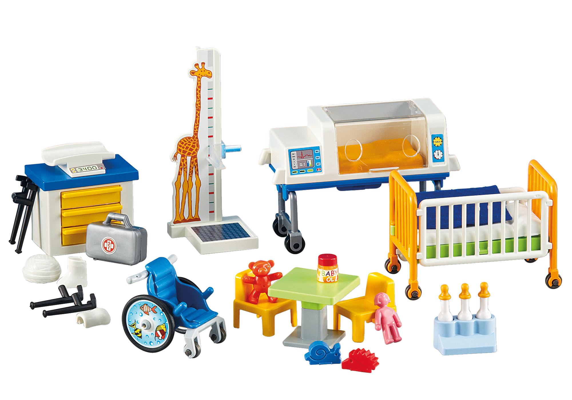 http://media.playmobil.com/i/playmobil/6295_product_detail/Matériel de pédiatrie