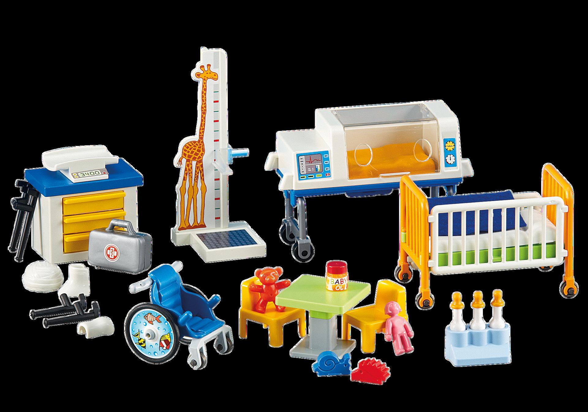Inrichting voor het kinderziekenhuis 6295 playmobil for Salle a manger playmobil city life