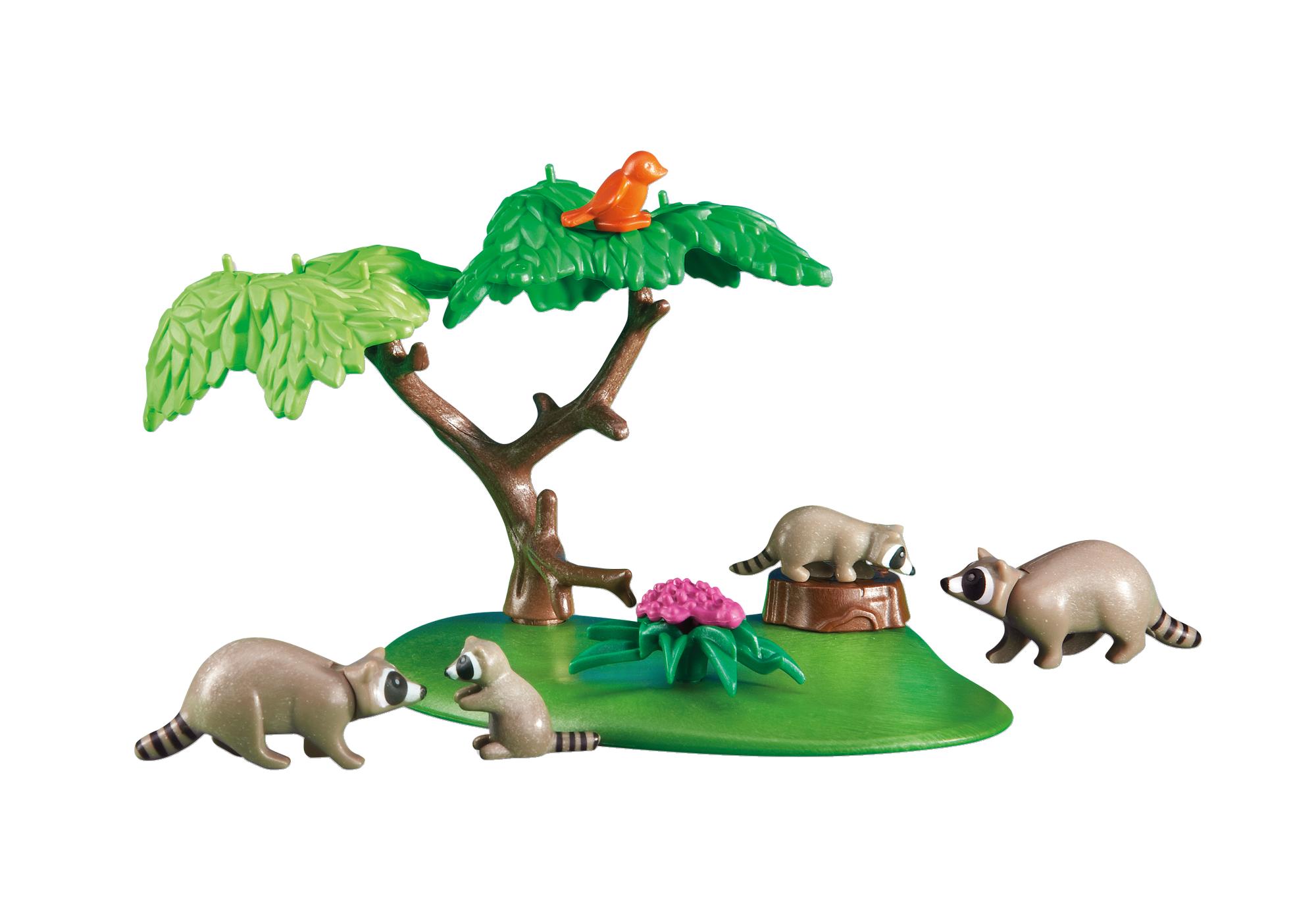 http://media.playmobil.com/i/playmobil/6317_product_detail/Famille de ratons laveurs avec arbre