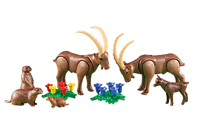 6318 Alpine Animals