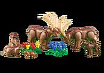 6318 Famille de bouquetins avec marmottes