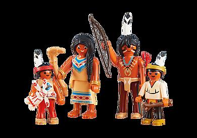 6322 Famille amérindienne