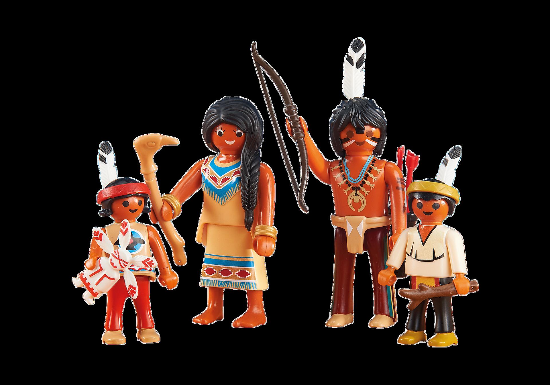 6322 Indianerfamilie zoom image1