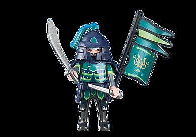 6327 Chef des Dragons Asiatiques verts