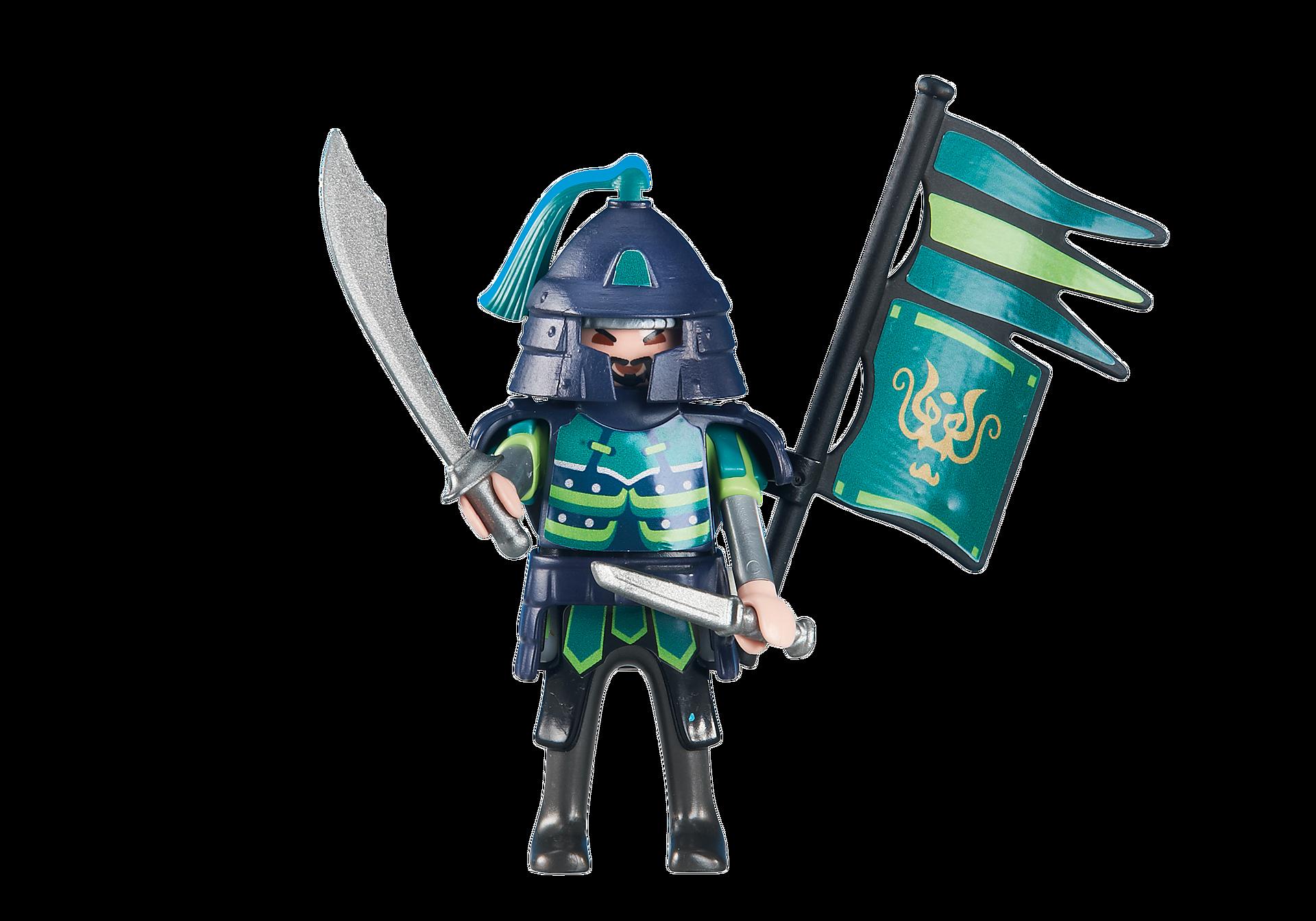 6327 Green Samurai Knights Leader zoom image1