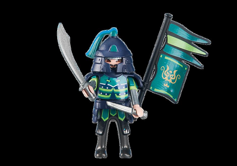 6327 Green Samurai Knights Leader detail image 1