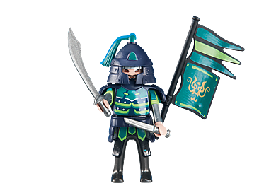 6327 Green Samurai Knights Leader