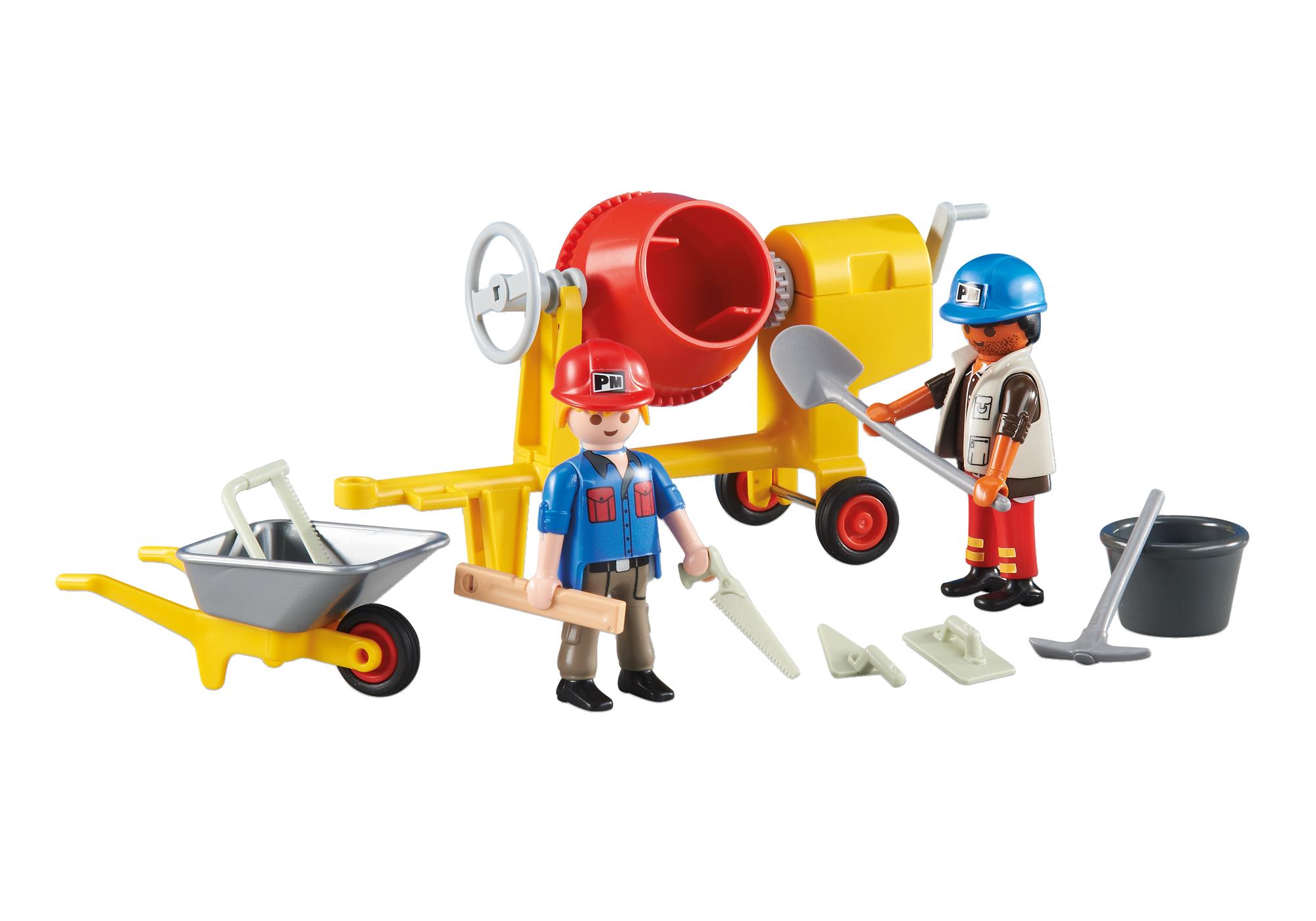 Bauarbeiter zeichnung  2 Bauarbeiter - 6339 - PLAYMOBIL® Deutschland