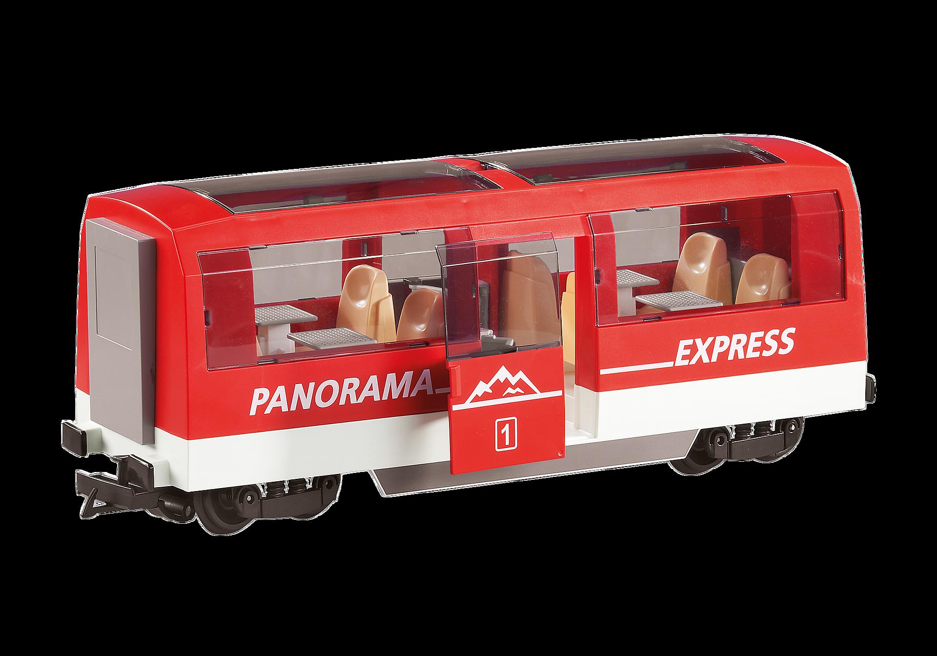 6342 Jernbanevogn til personer zoom image1